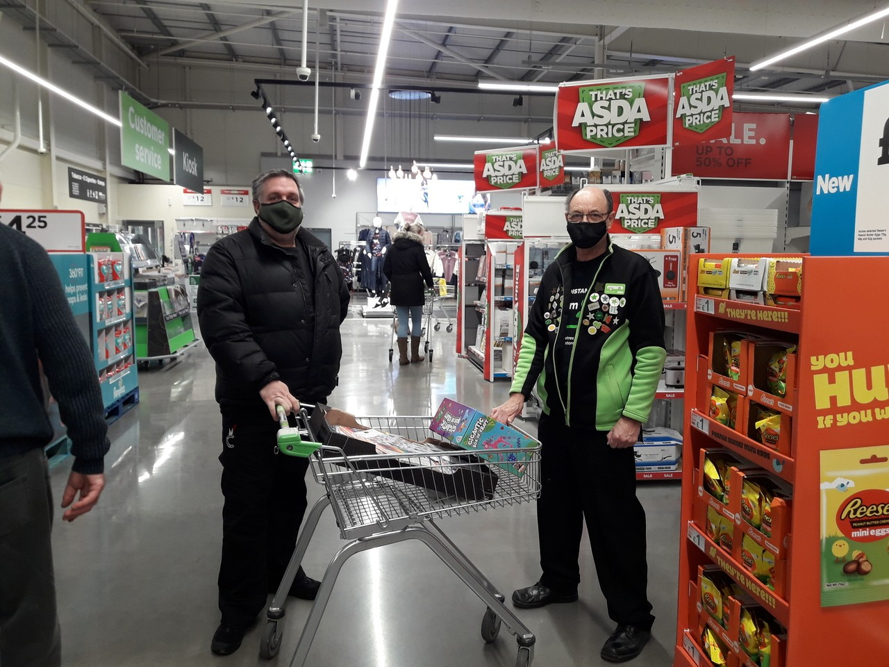 Bringing colour and smiles to children at home  | Asda Barnstaple