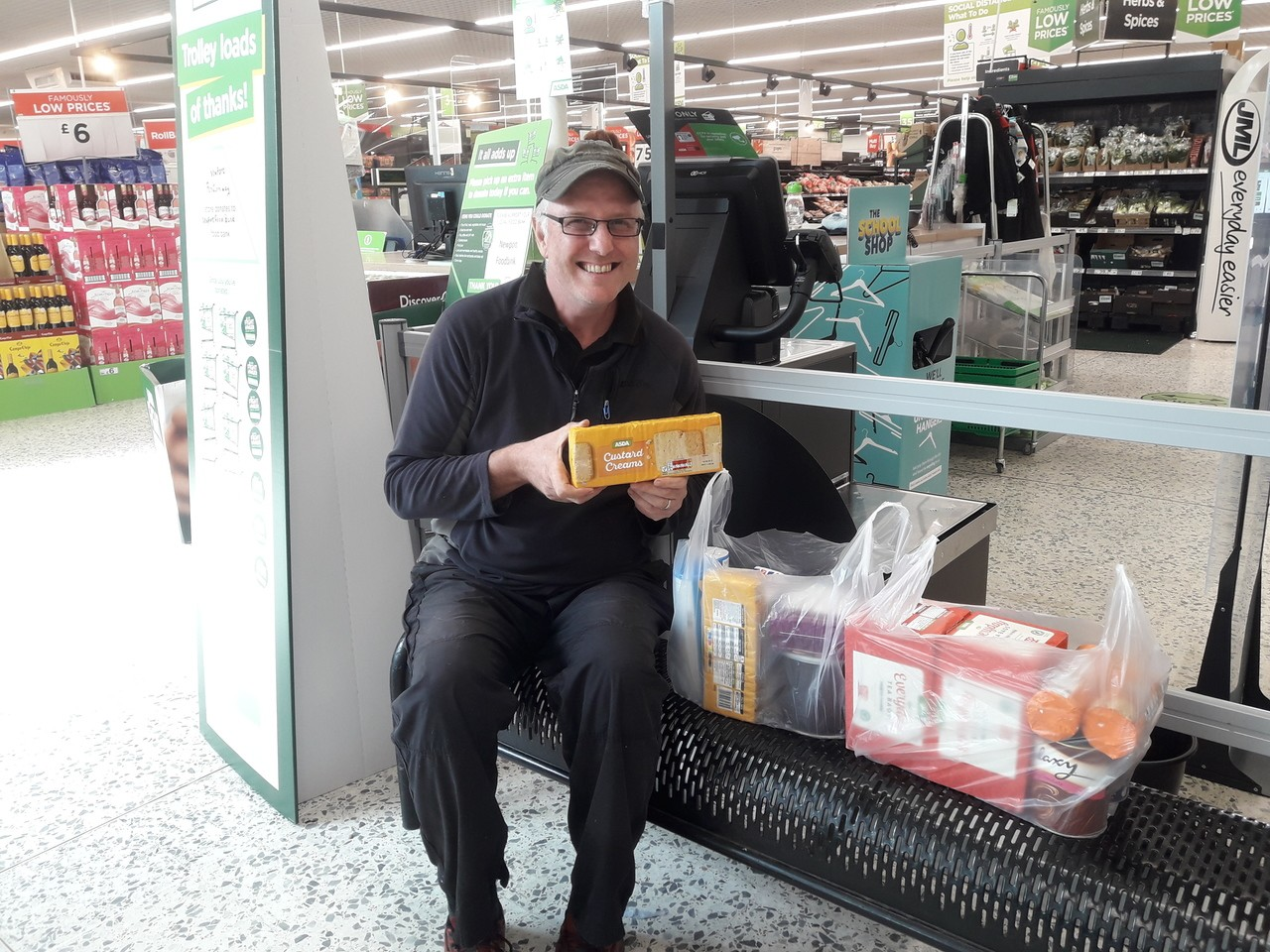 Donation from Asda Newport to mental health charity Growing Space | Asda Newport