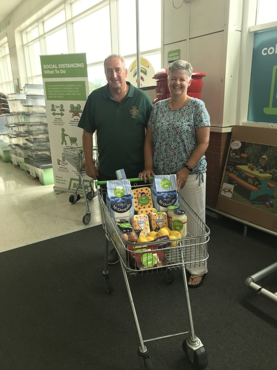 Royal British Legion donation  | Asda Blackwood