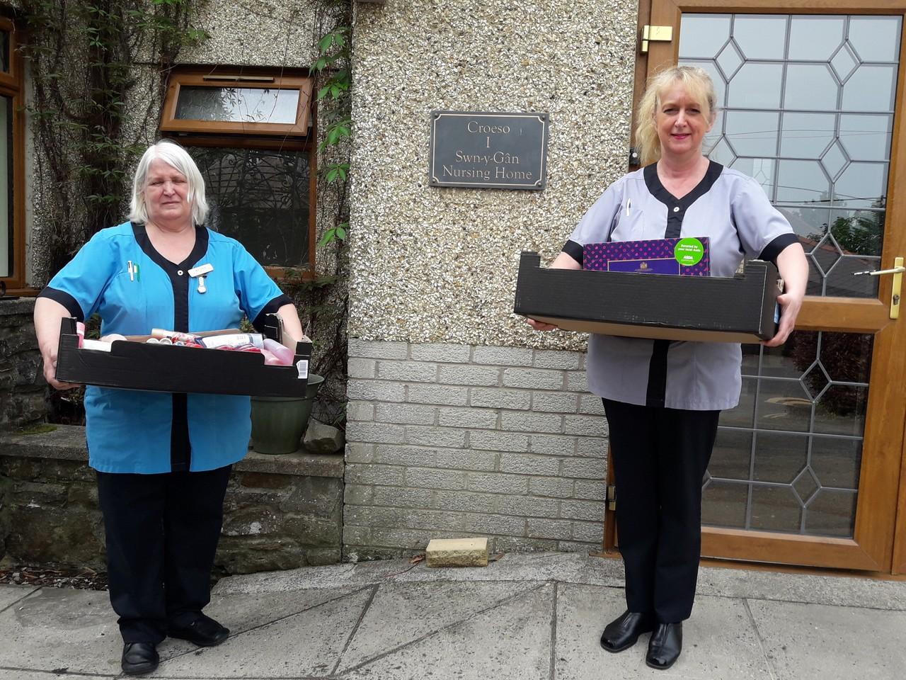 Supporting local care home | Asda Gorseinon