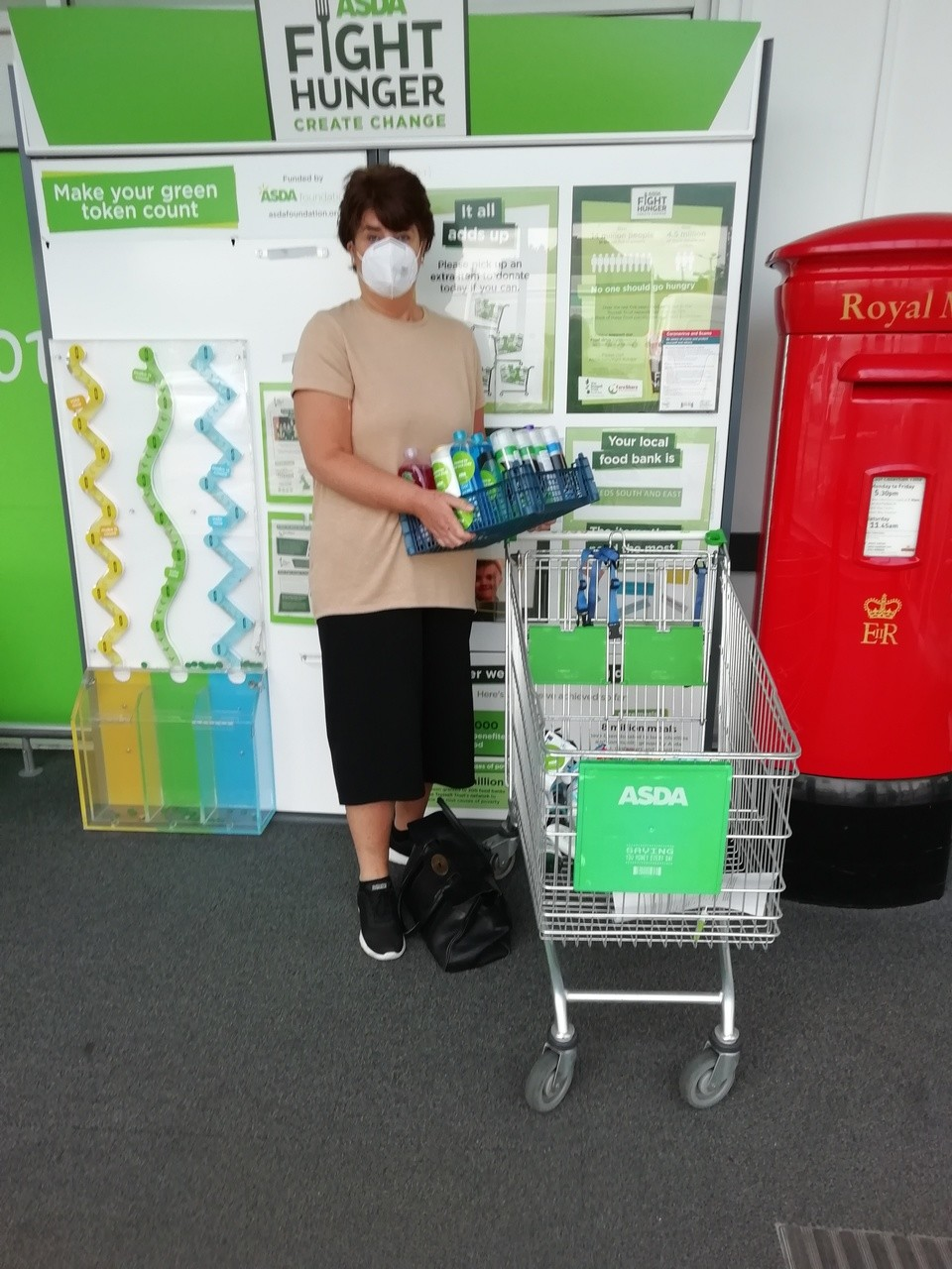 Toiletries donation to Knowle Manor Care Home | Asda Morley