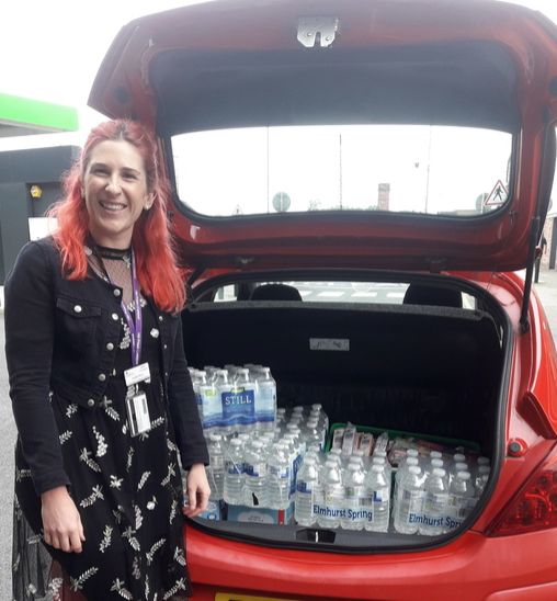 Key workers pamper day | Asda Bootle