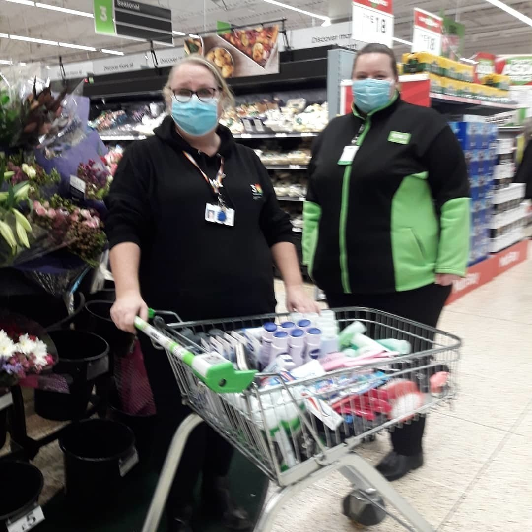 Helping hospital patients | Asda Plymouth