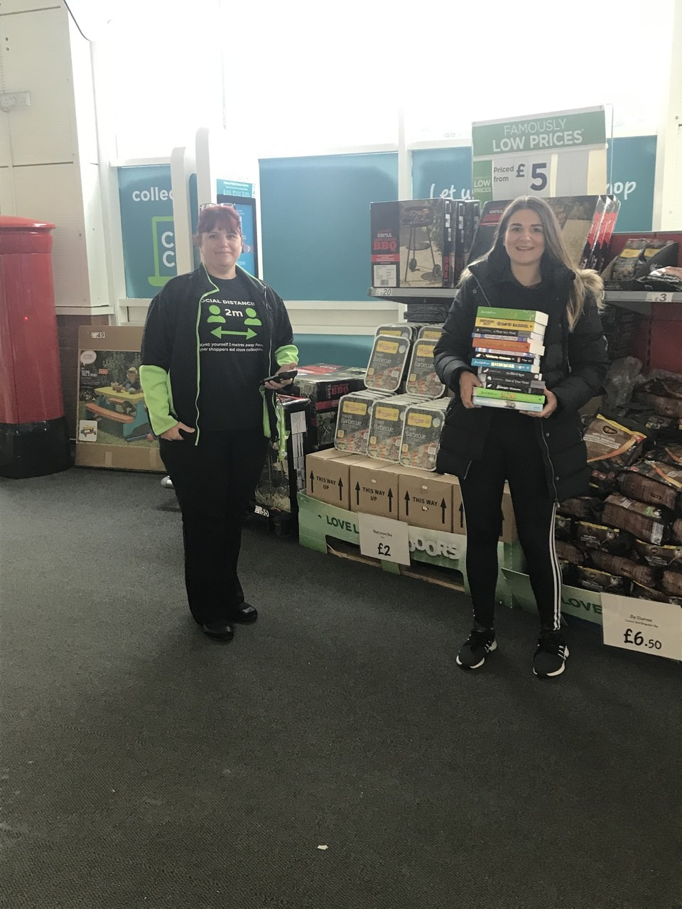 School donation  | Asda Blackwood