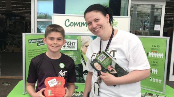 Fight Hunger Create Change at Asda Gloucester