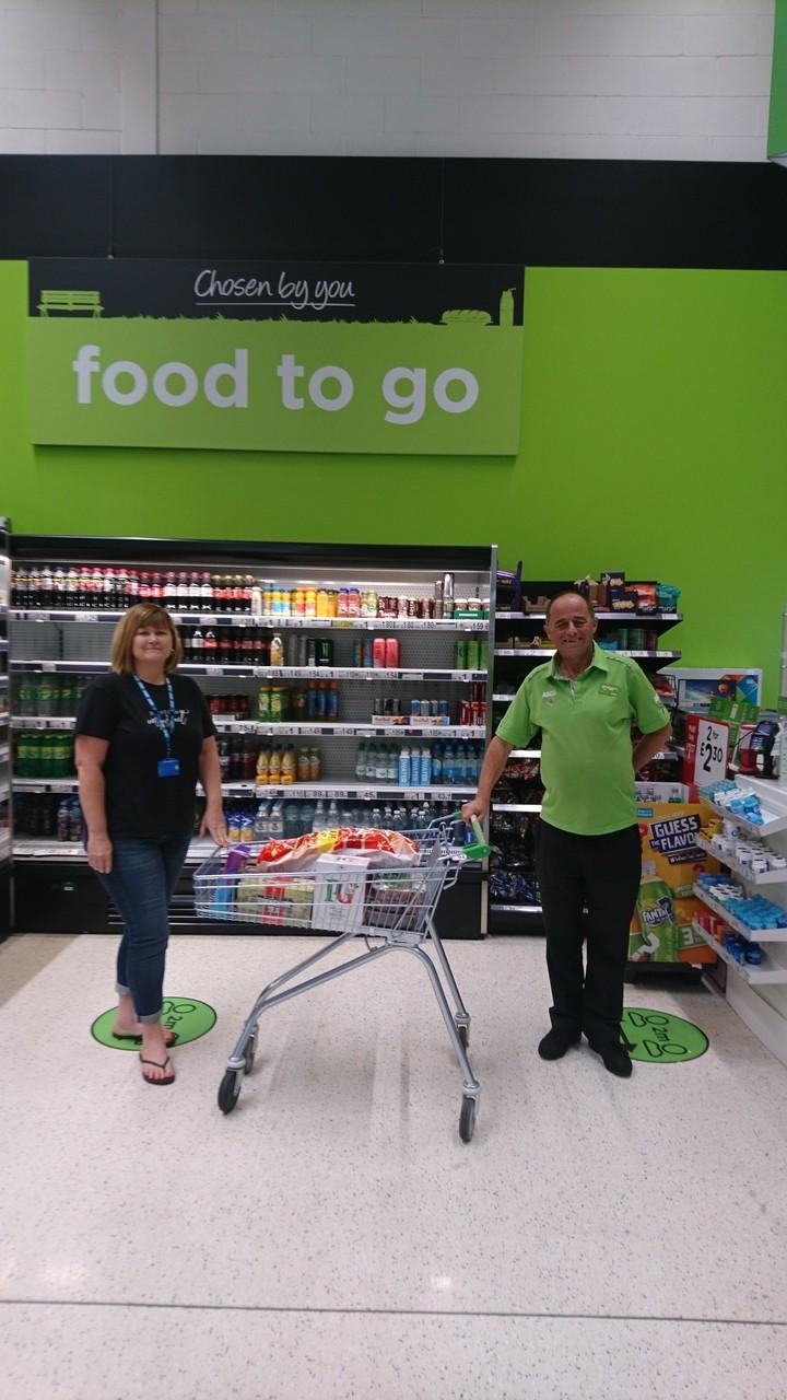 First donation in June | Asda Filton