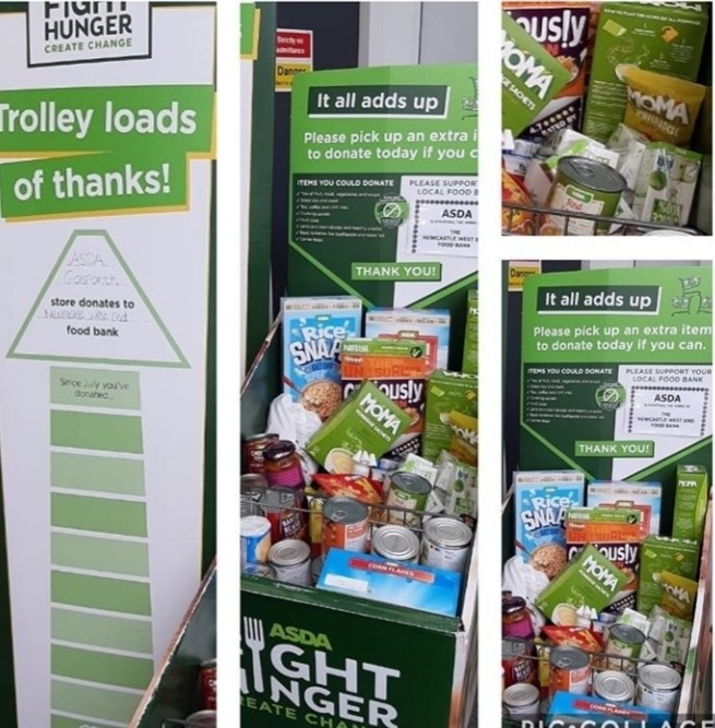 Fight Hunger Create Change | Asda Gosforth