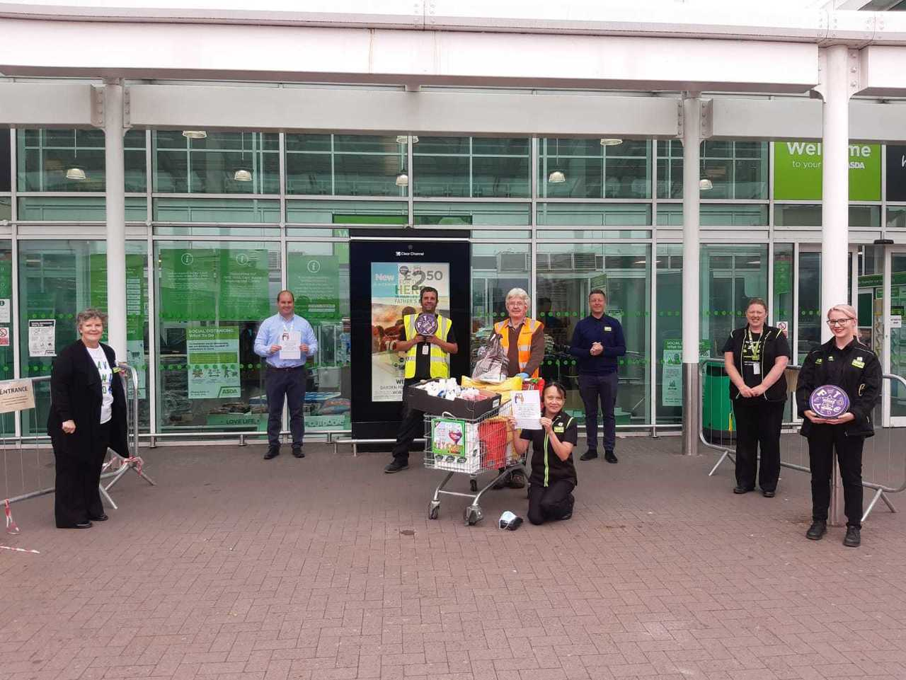 Thank you volunteers | Asda Tamworth