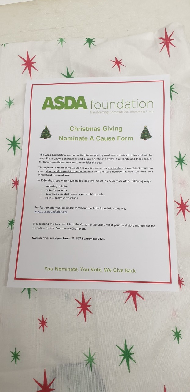 Christmas giving  | Asda Newtownards