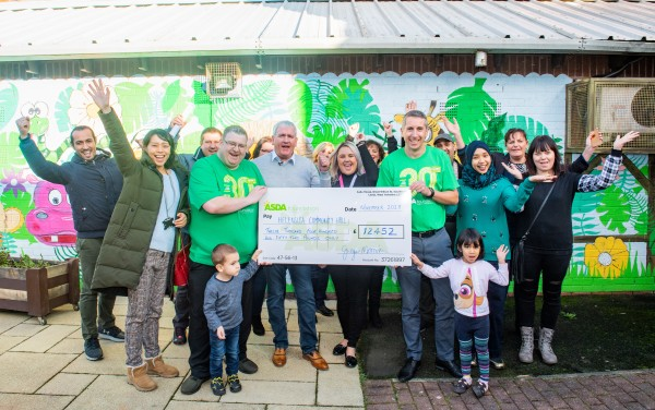 Asda Foundation celebrates its 30th anniversary with a surprise donation