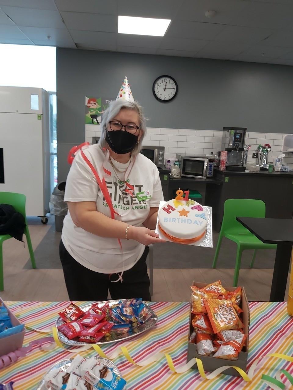 Store celebrates 21st birthday | Asda Donnington Wood