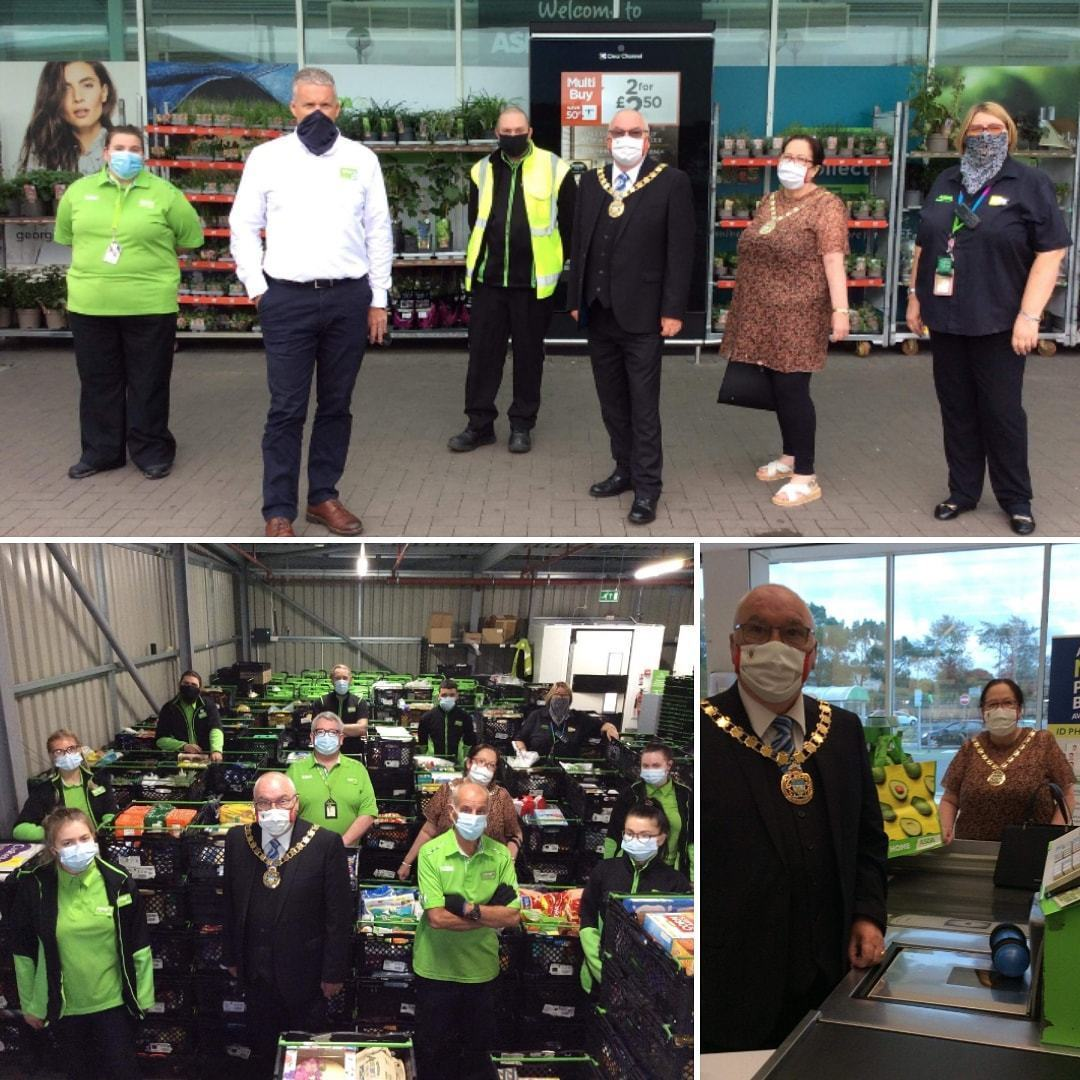 Mayor visits to say thank you to colleagues  | Asda Skelmersdale