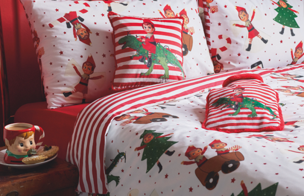 Asda's Cheeky Elf Christmas bedding
