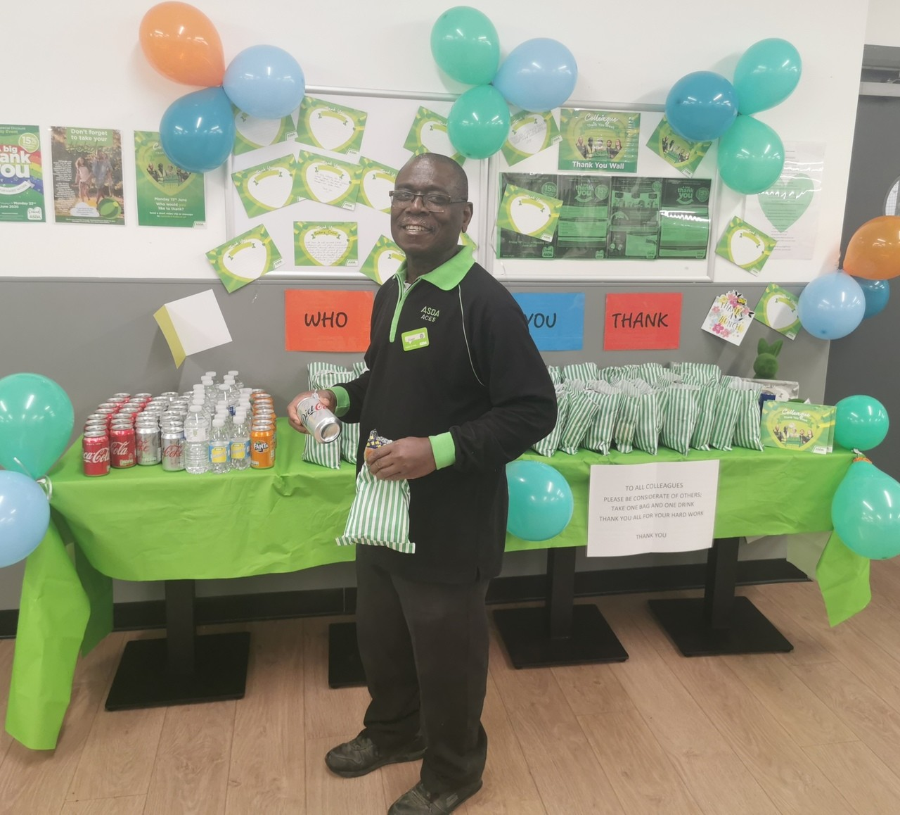 Big thank you to all our amazing colleagues | Asda Crawley