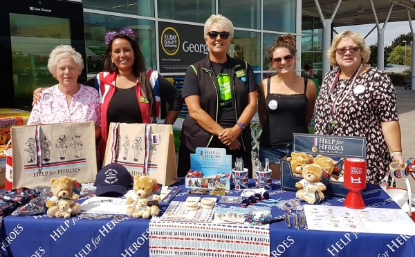 Help for Heroes at Asda Cheltenham