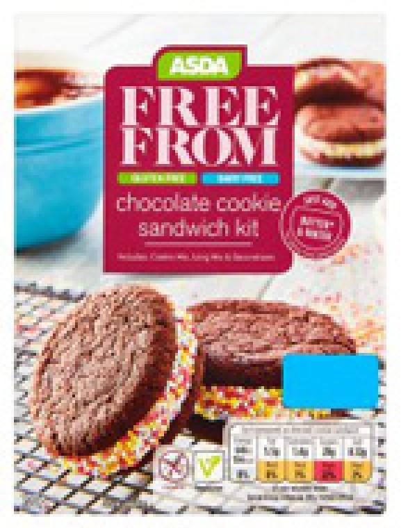 Asda Free From Chocolate Cookie Sandwich Kit