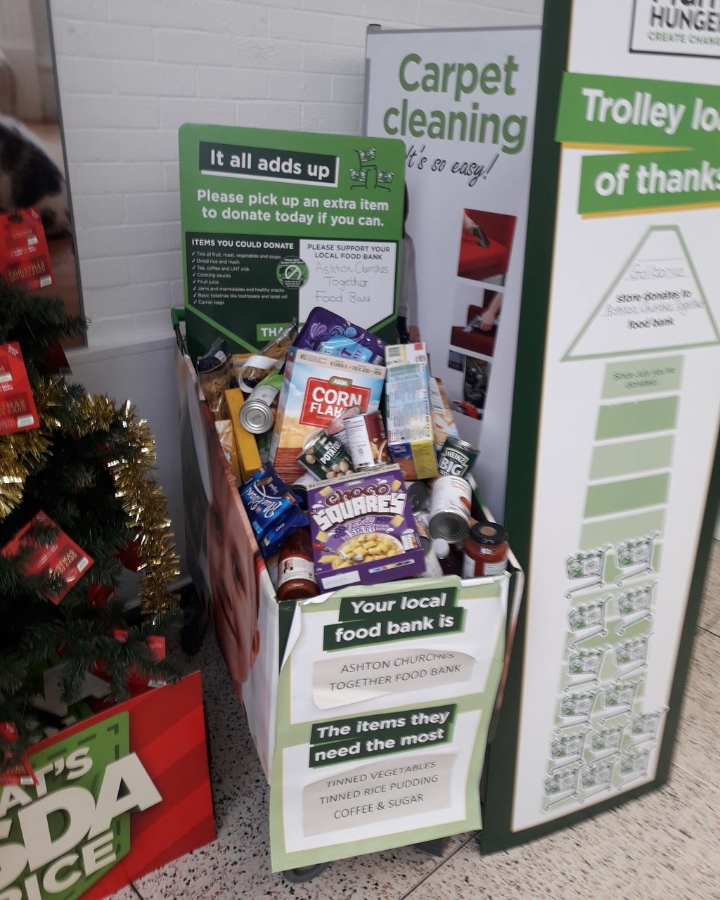 Thank you for supporting Golborne food bank  | Asda Golborne