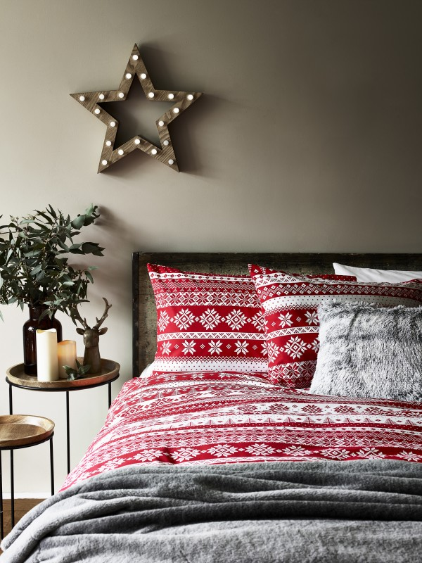 Christmas Scandi Bedroom Range