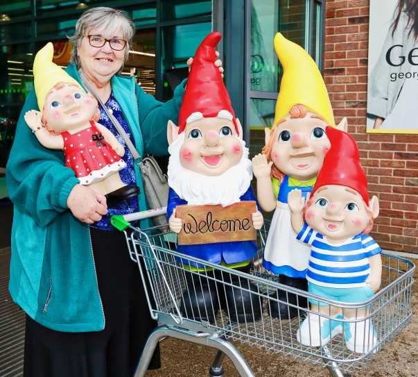 Gnome In Garden: Asda Colleagues Respond After Thieves Steal All Rosemary's