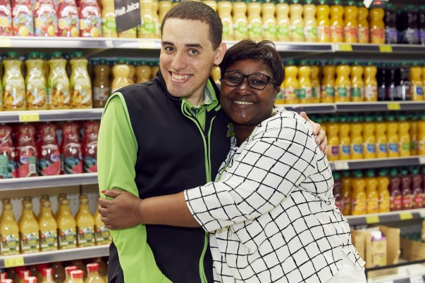 Max Ferreira and Gifty Banno from Asda Southgate Circus
