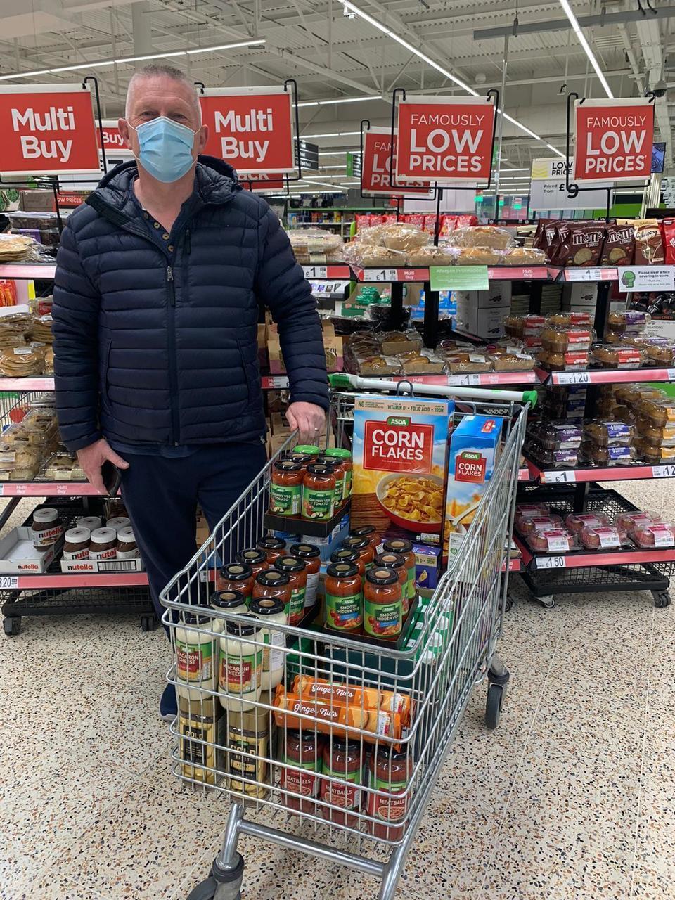 Donation to St Luke's Community Food Larder | Asda Dundee Kirkton