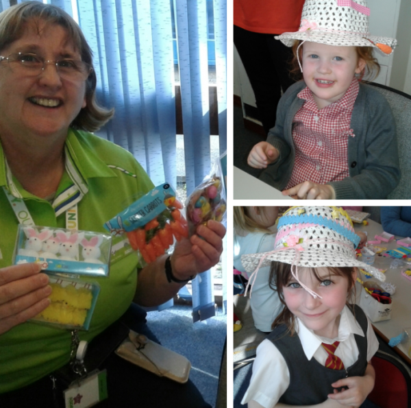 Asda Westbrook community champion Cathy Robinson's Easter activity