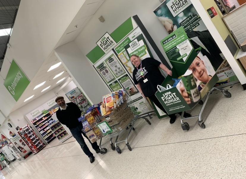 Supporting new foodbank | Asda Dewsbury