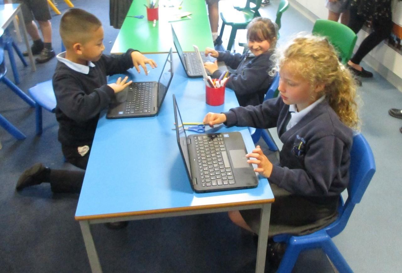 Laptop donation | Asda Bridgwater