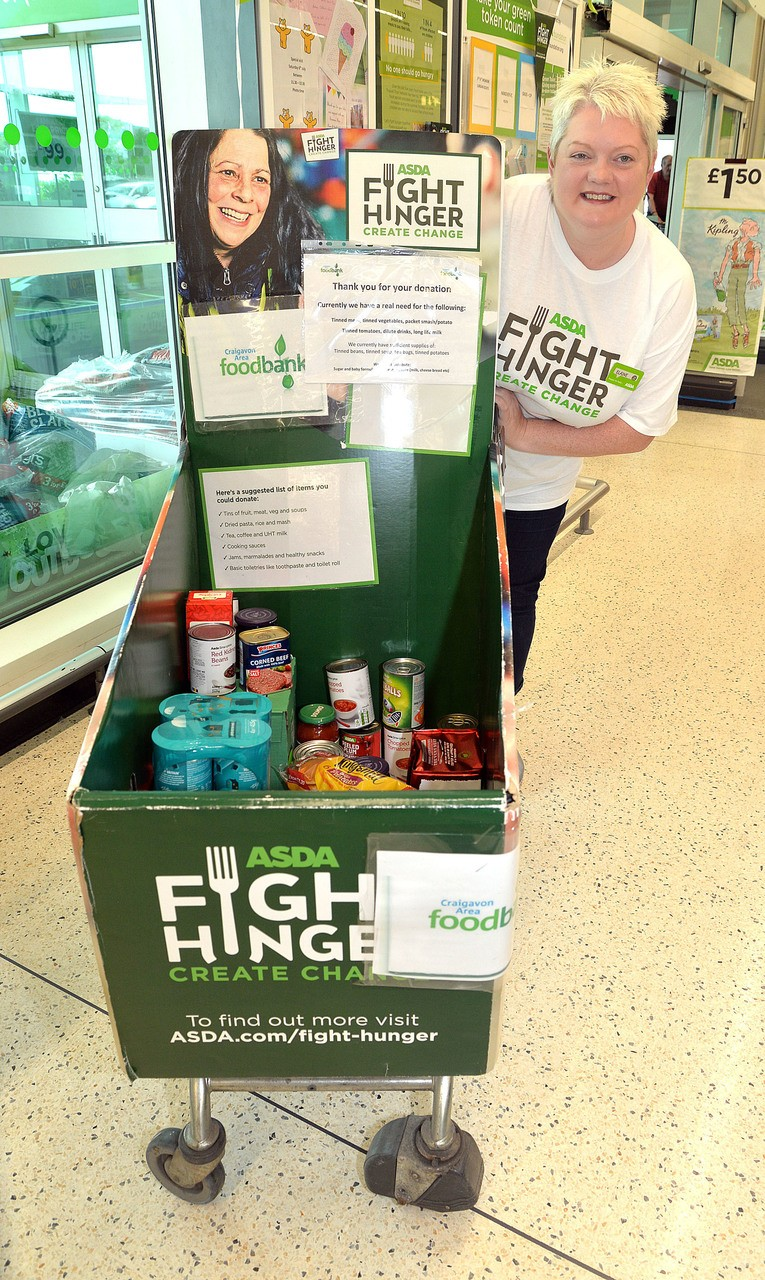 Portadown Fight Hunger donations