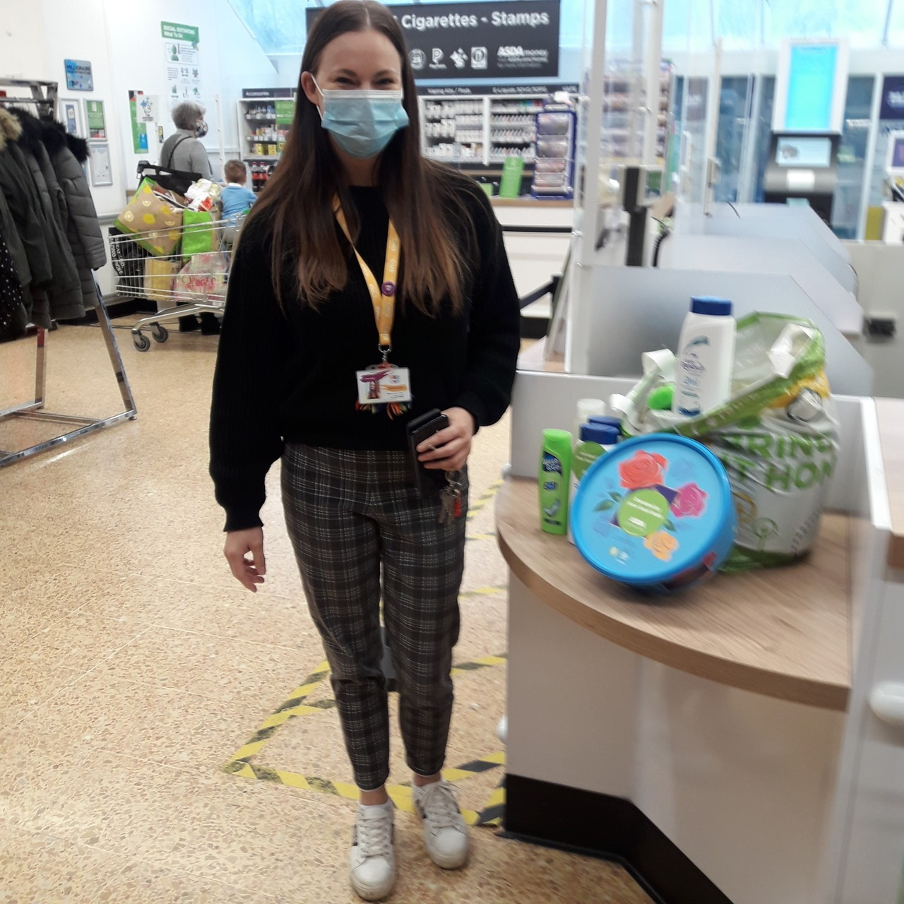 Cheshire Without Abuse donation  | Asda Crewe
