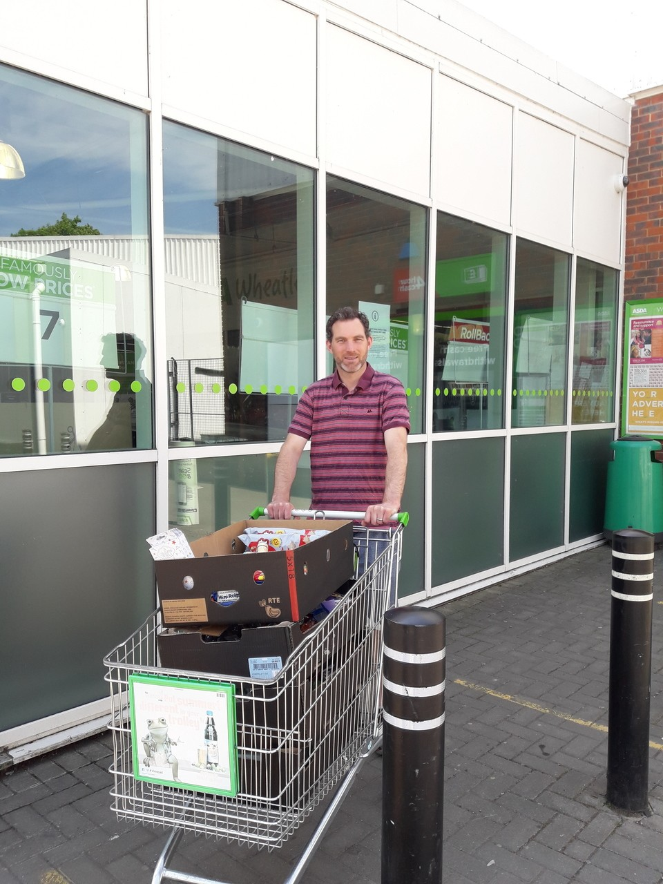 Oxford Health Charity donation  | Asda Wheatley