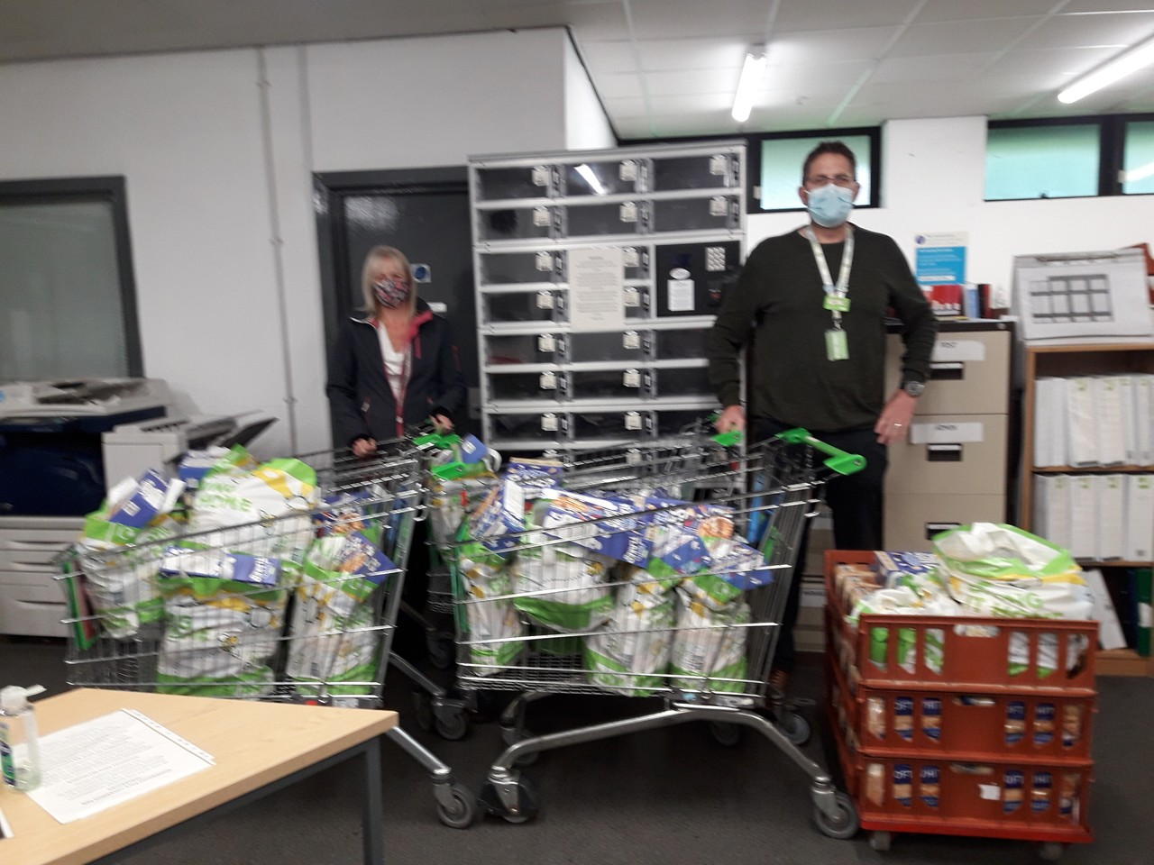 Food parcel support | Asda Taunton