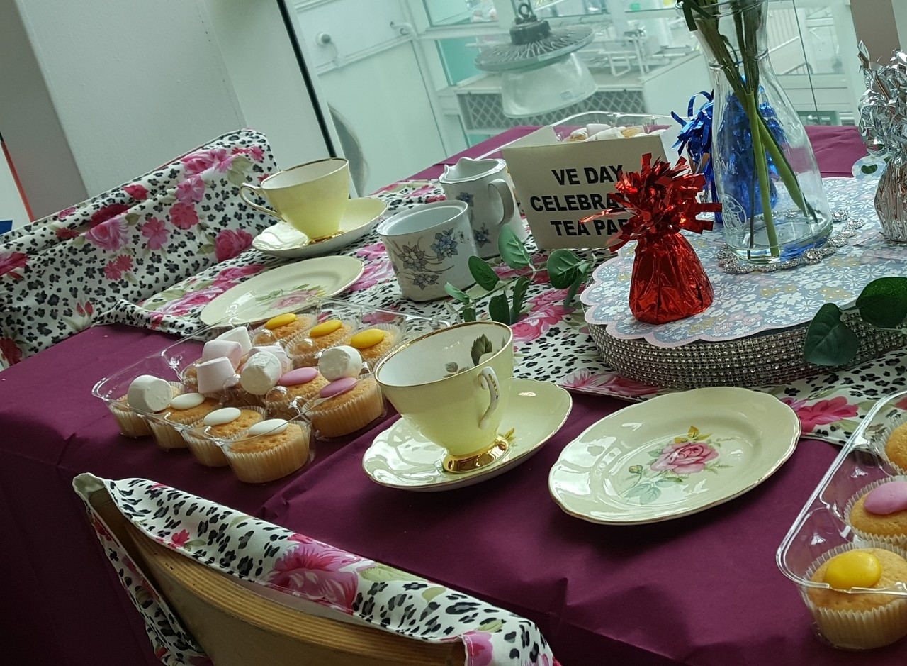 A VERY SPECIAL SOCIAL DISTANCING TEA PARTY | Asda Toryglen