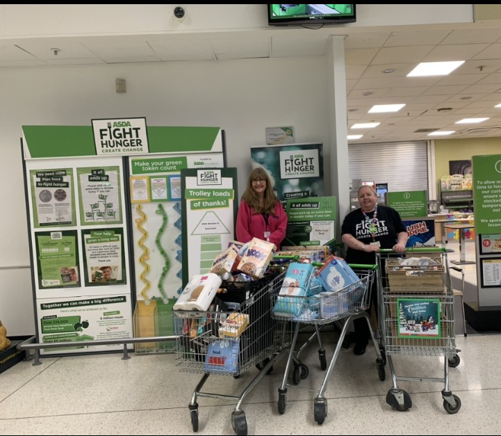 Fight Hunger support | Asda Dewsbury