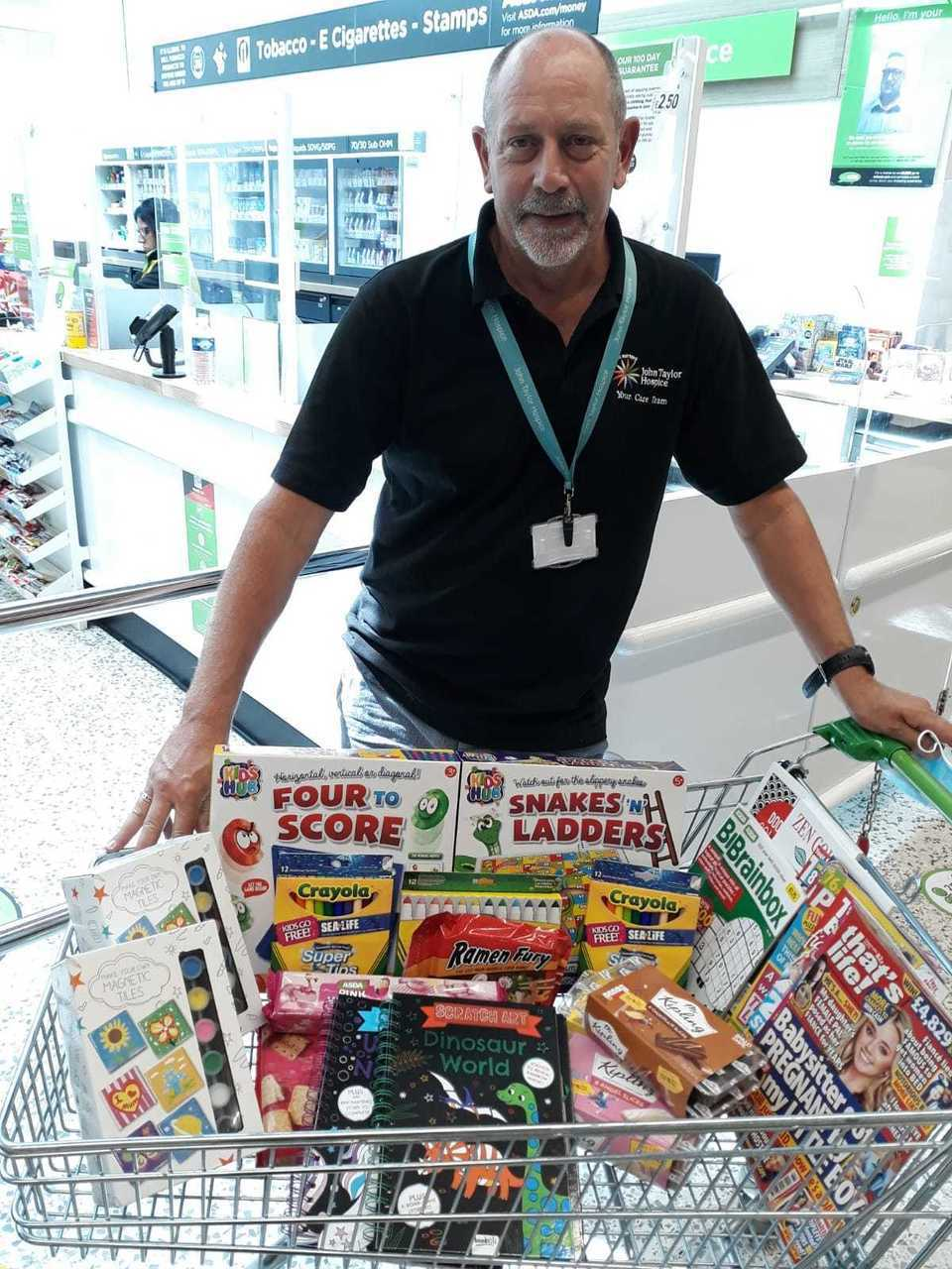 Supporting John Taylor Hospice | Asda Perry Barr