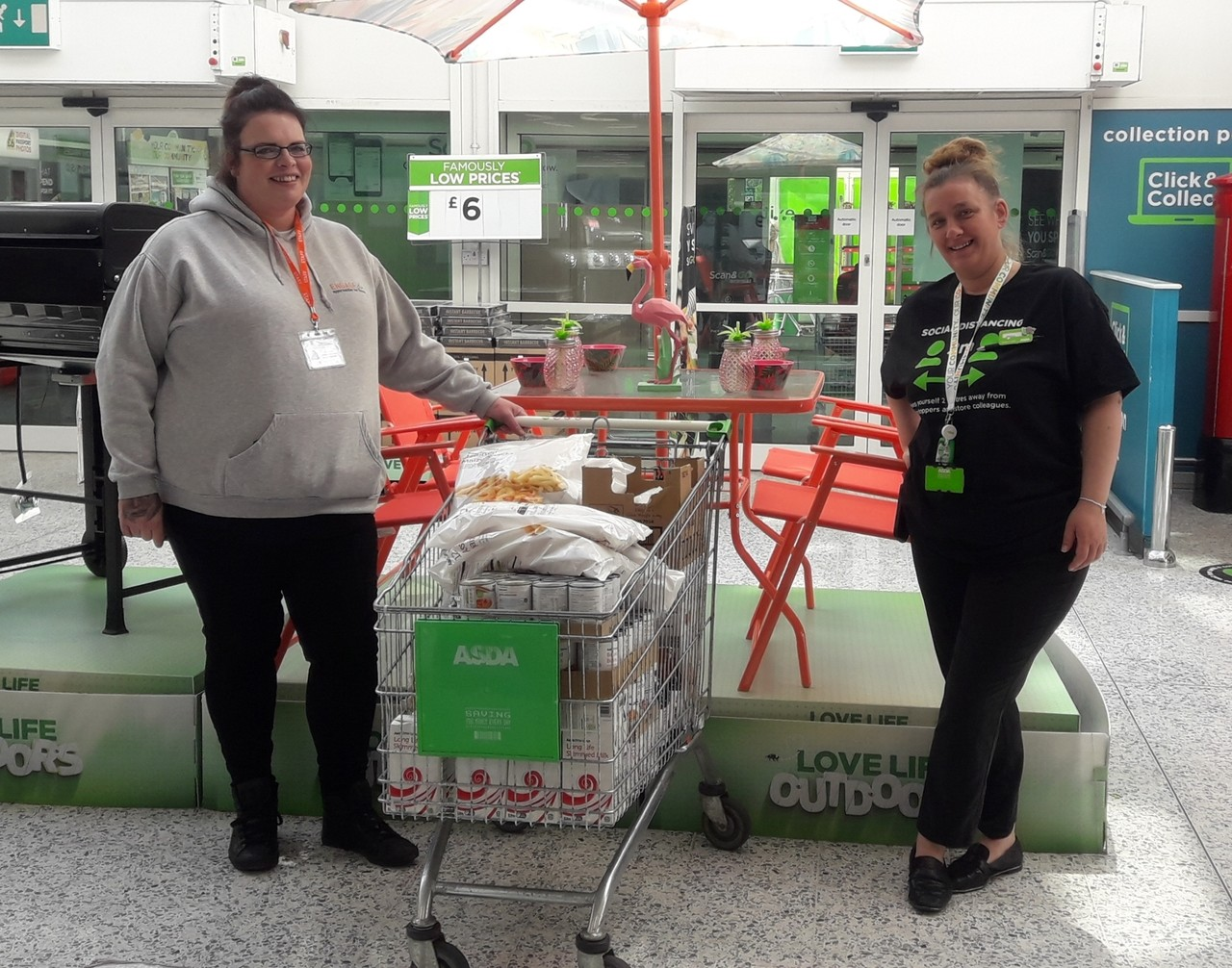 Donations to Engage | Asda Blyth