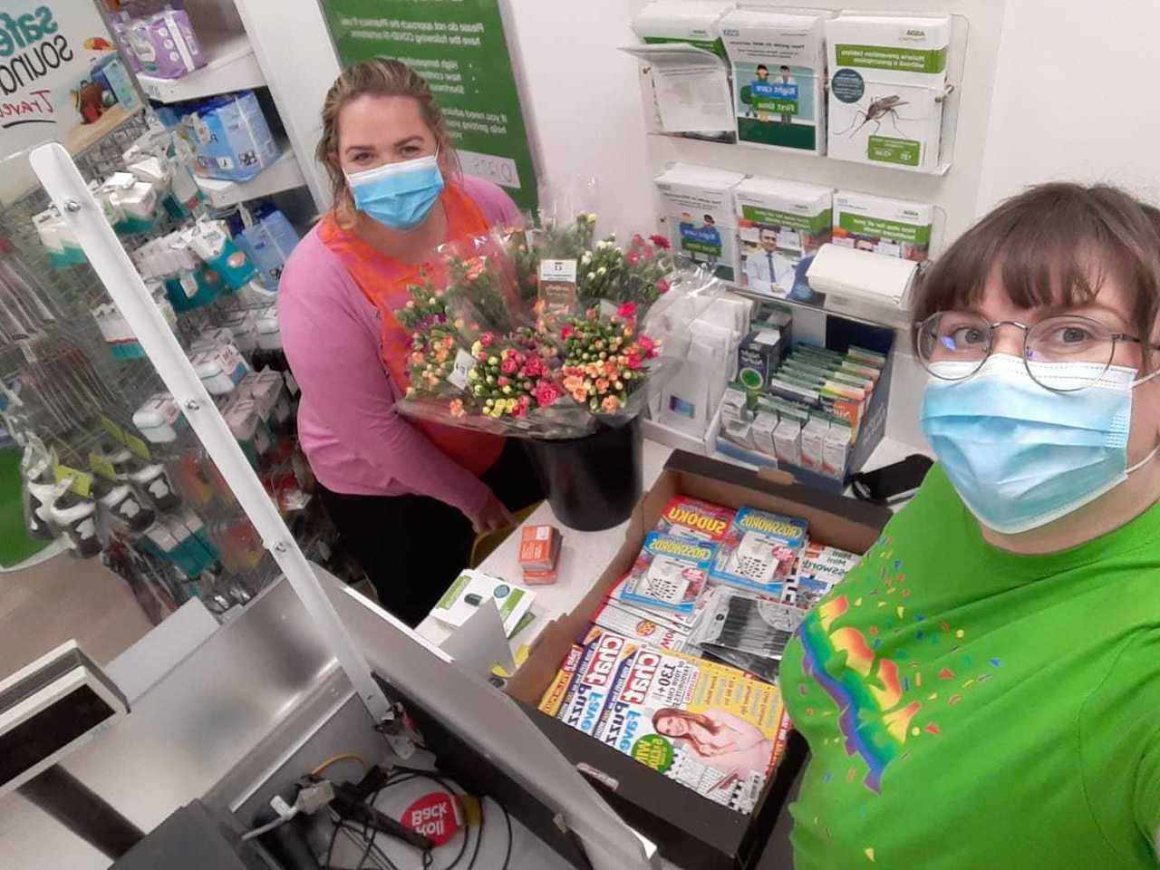 Care home donation | Asda Bristol Whitchurch