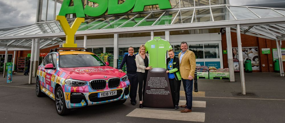 Asda is proud to sponsor the Tour de Yorkshire Women's Race for the fourth year
