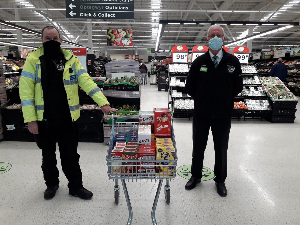Asda Queensferry doing our bit for Flintshire Foodbank | Asda Queensferry