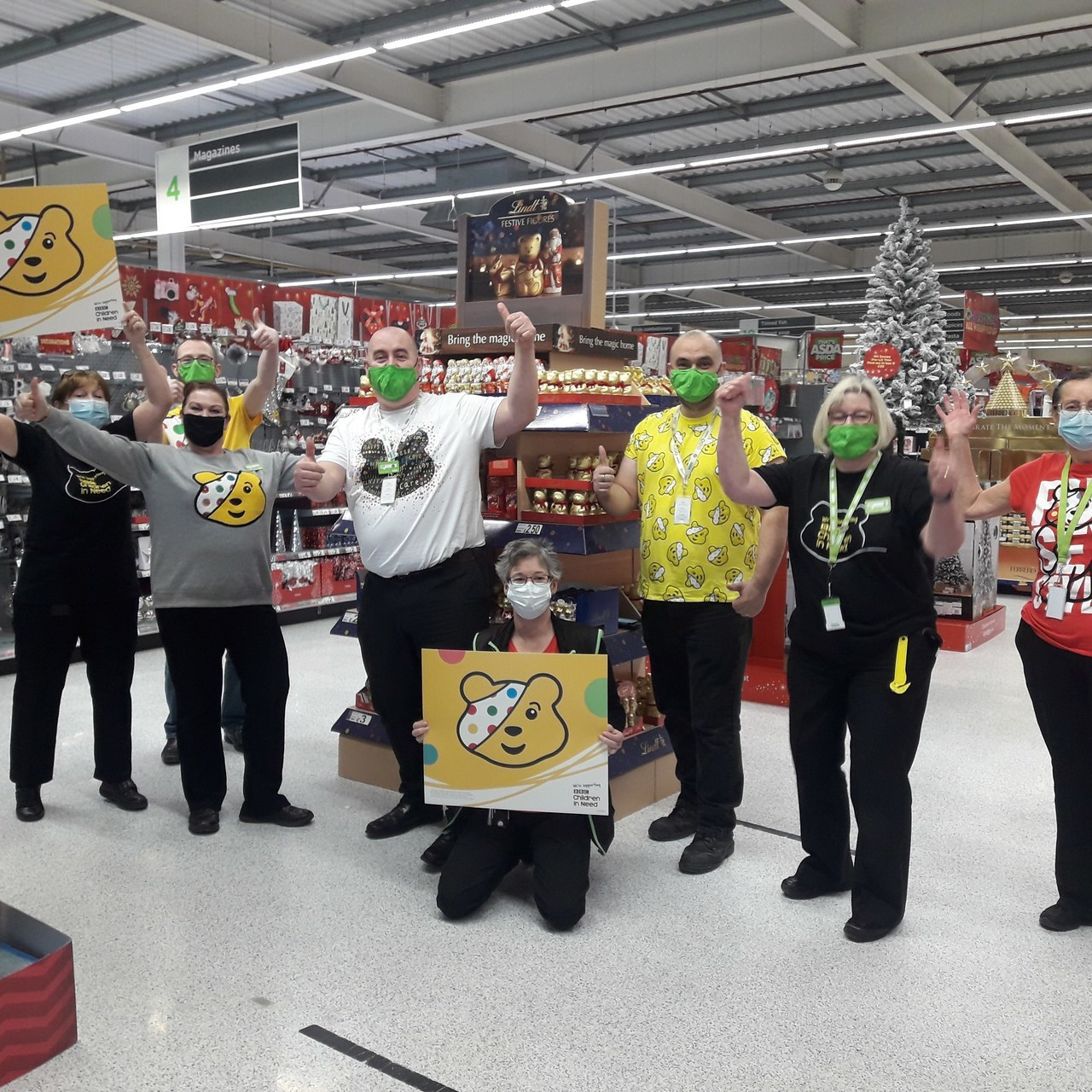 Children in Need 2020 | Asda Rawtenstall
