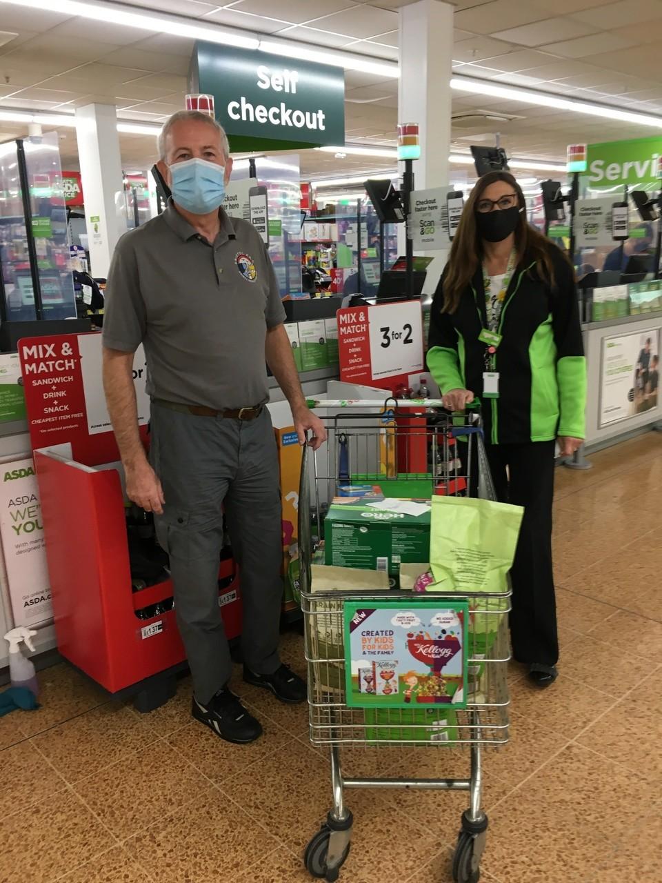 Pet food donations | Asda Longwell Green