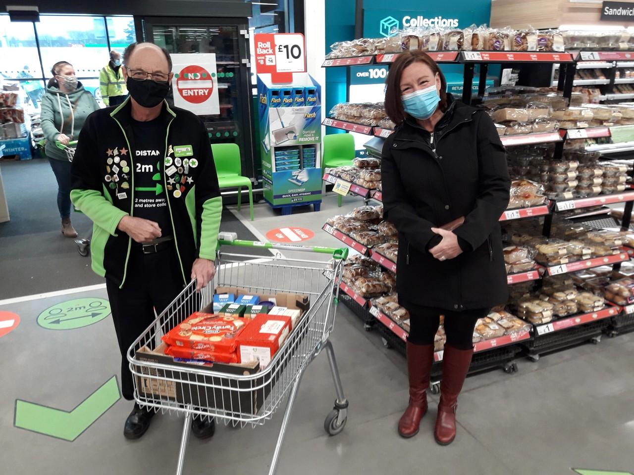 Helping hand for homeless charity | Asda Barnstaple