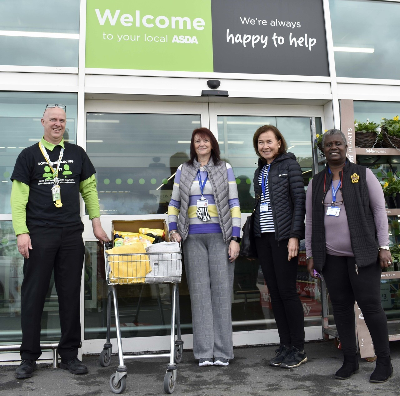 Supporting Charis House | Asda Bideford