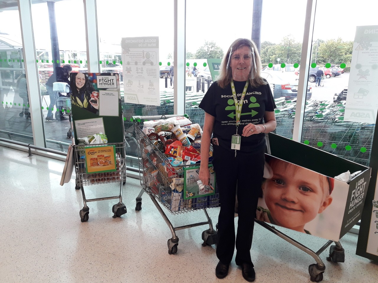 Hamilton District Foodbank donation  | Asda Hamilton