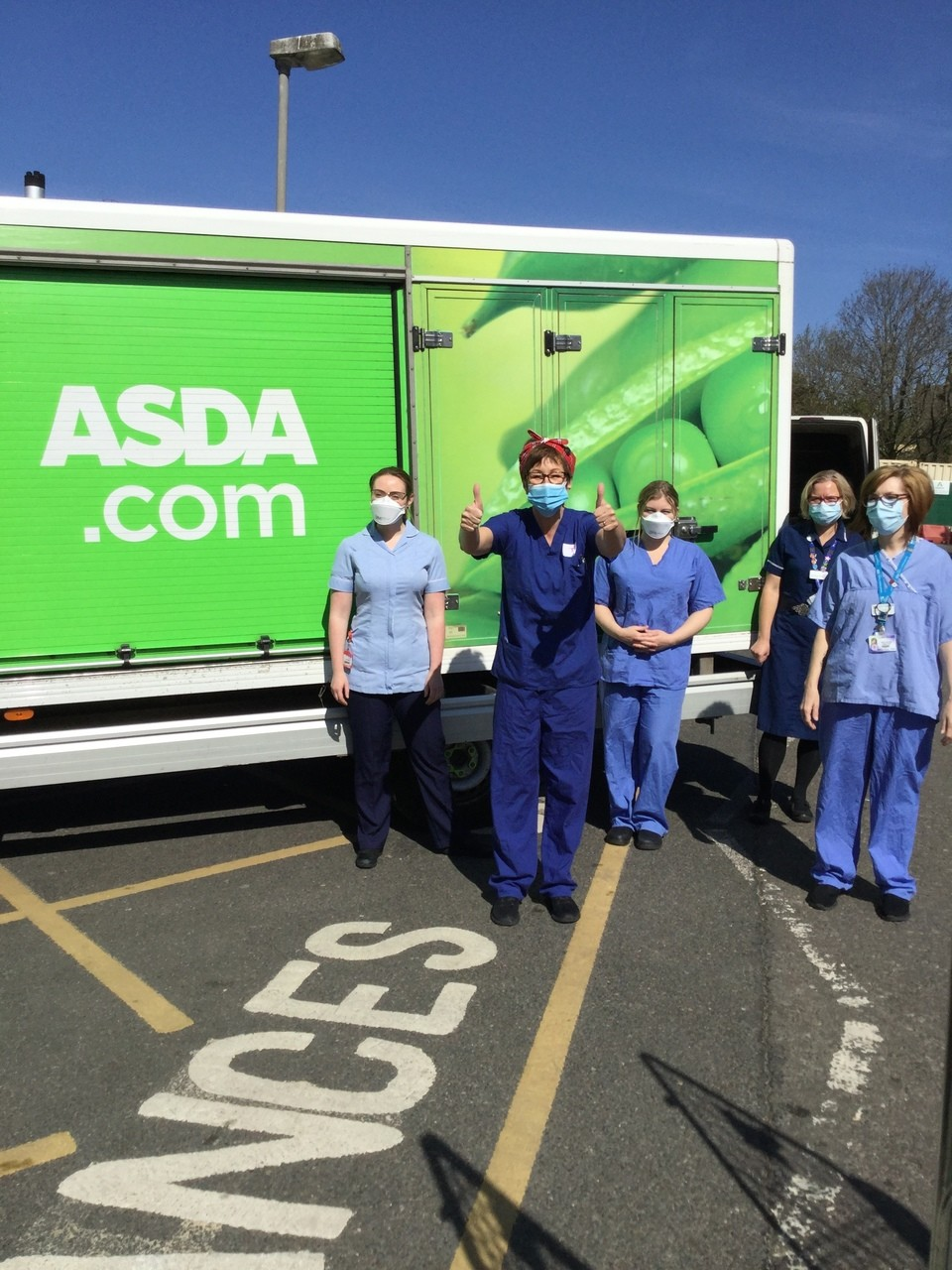 Looking after the NHS workers who look after us | Asda Leicester
