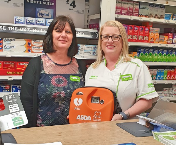 Pharmacy colleague Heather saves live of customer in Tamworth store