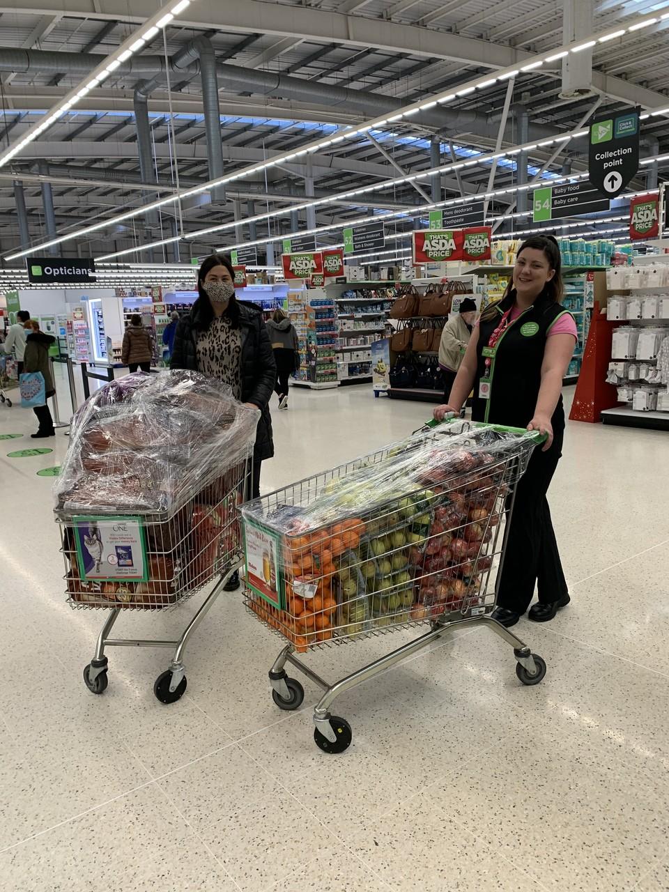 Helping fight holiday hunger | Asda Wigan