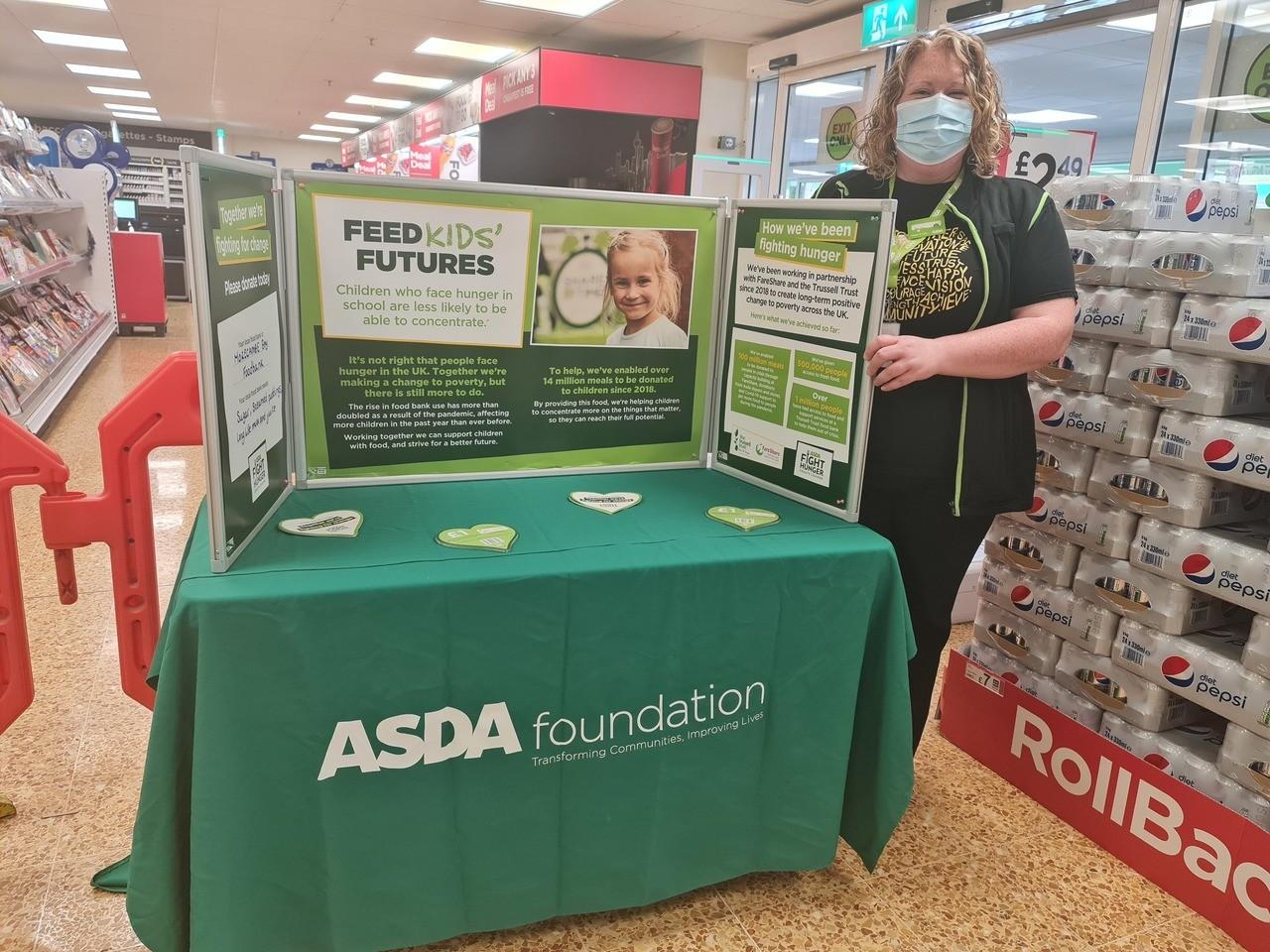 Foodbank support | Asda Lancaster