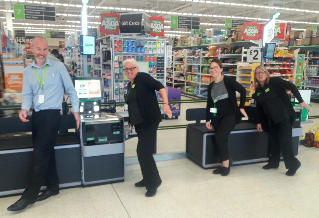 The Pocket Tap returns | Asda Brighton Marina