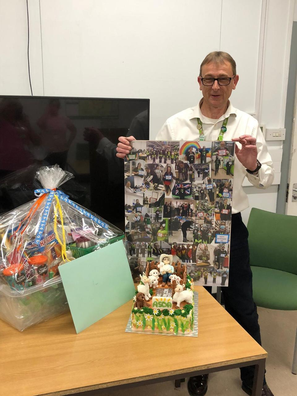 Happy retirement to our wonderful store manager Ian | Asda Swindon Haydon